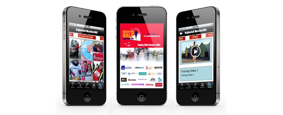 Brighton Half Marathon Mobile & Tablet App