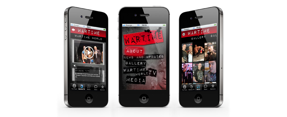 Wartime Mobile & Tablet App